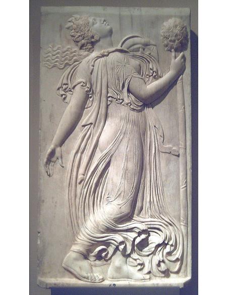 Ménade dansante regardant vers le ciel par Callimacus