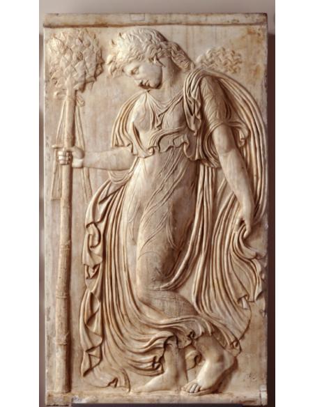 Menade dansante regardant le sol par Callimacus