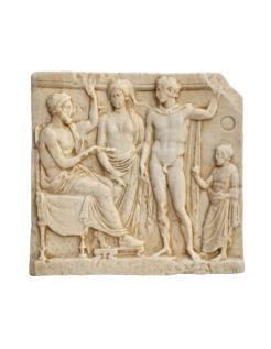 Bas-relief grec