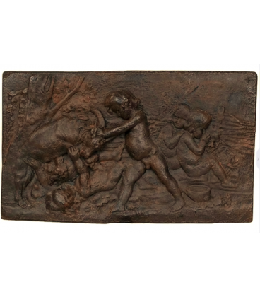 Autumn bas-relief