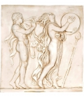 Bacchic dance low relief 1