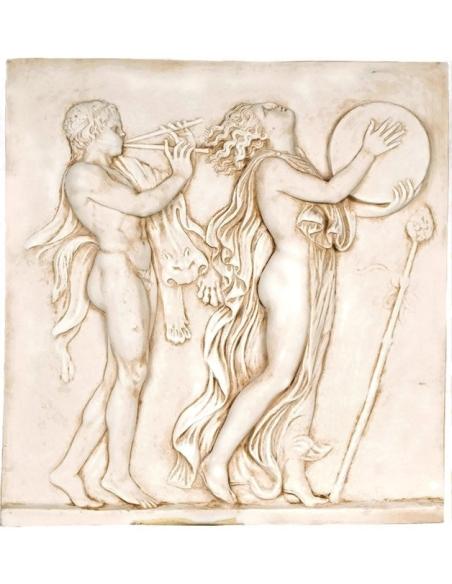 Bas-relief danse dionysiaque 1