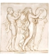 Bacchic dance bas-relief 1