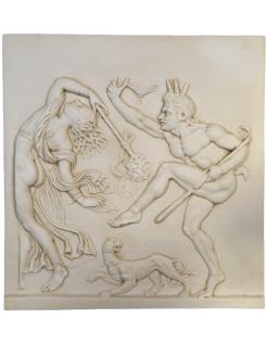 Bas-relief danse dionysiaque 2