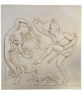 Bacchic dance low relief 2