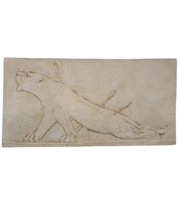 Wounded bas-relief lioness - Palace of Asurbanipal
