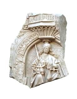 Bas-relief gothique