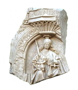Gothic low relief