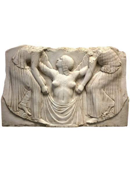 Low relief Birth of Venus