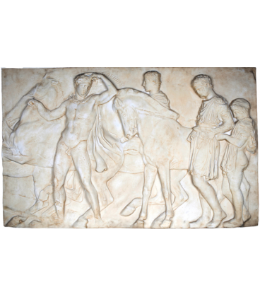 Large low relief of the Parthenon