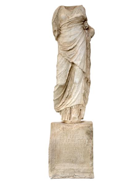 Torso romano museo arqueologico de Ibiza