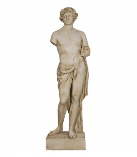 Bacchus with Snake - Life-size Statue - The God of Wine, the Grape Harvest