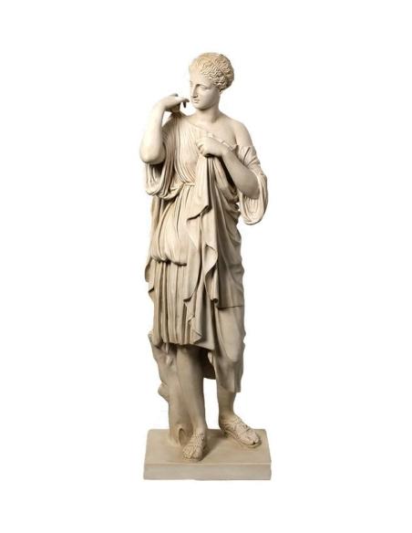 Artemis dite Diane de Gabies - Statue en taille réelle de Praxitele - Déesse romaine de la chasse et de la lune