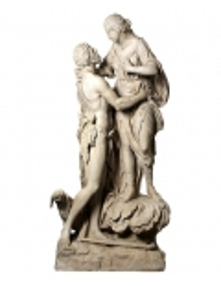 Selene y Endimión - Estatuas a tamaño real - Diosa Romana de la Luna y del Pastor
