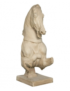 Roman horse torso statue