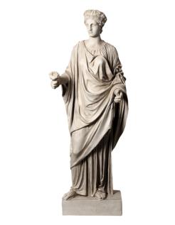 Vénus avec rose - statue taille réelle