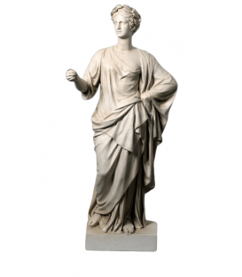 Venus crowned with laurel wreath - life-size statue