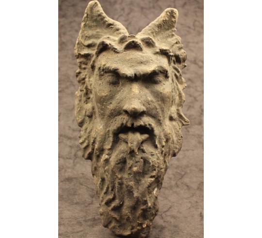 Máscara de fauno romano