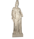 Athena life-size statue - greek goddess of Wisdom