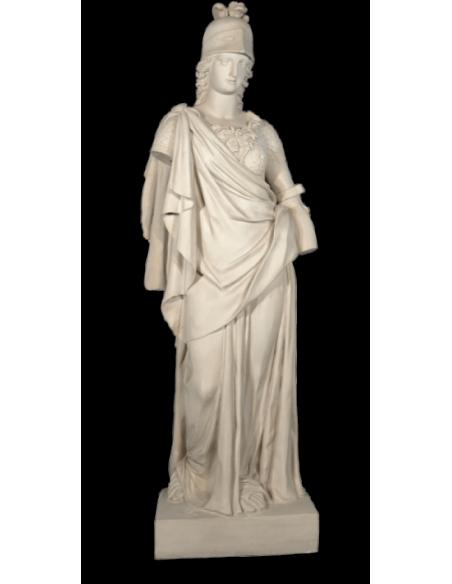 Estatua de la diosa Atenea - tamaño real