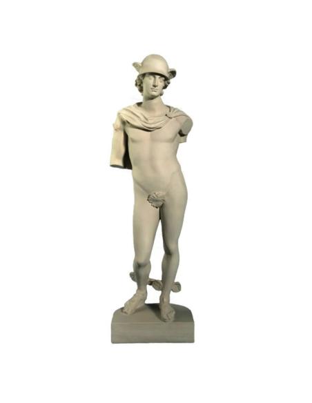Mercurio - estatua de tamaño natural - dios romano de los mensajes y del comercio