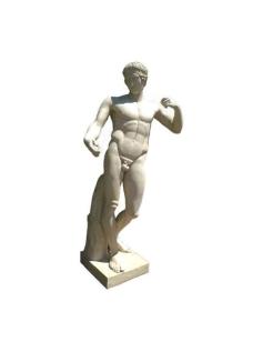 Diadoumenos by Polyclete - life-size statue