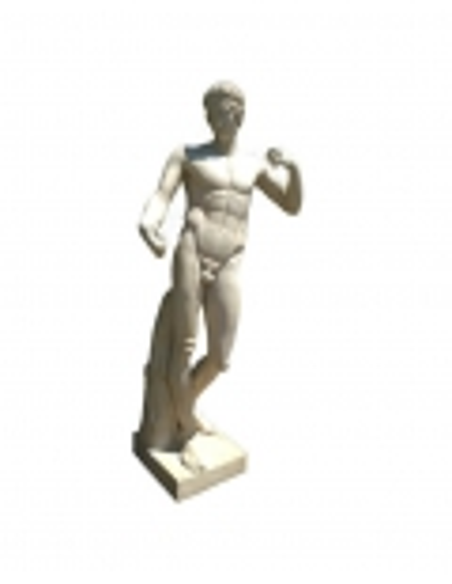 Diadoumenos - life-size statue