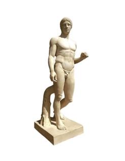 Doryphore de Polyclète - le porteur de lance - statue taille réel