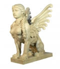 Statue of winged sphynx