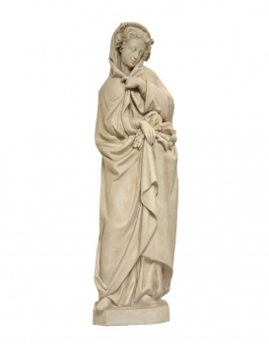 Las 4 estaciones -Estatua de la Diosa del Invierno