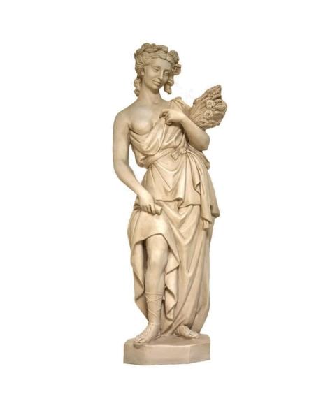 Las 4 estaciones -Estatua de la Diosa del Verano
