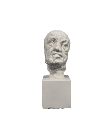 Little head of the Man with the Broken Nose - Auguste Rodin