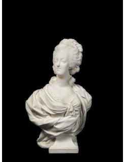 Bust of Marie Antoinette Wengmüller by Louis-Simon Boizot