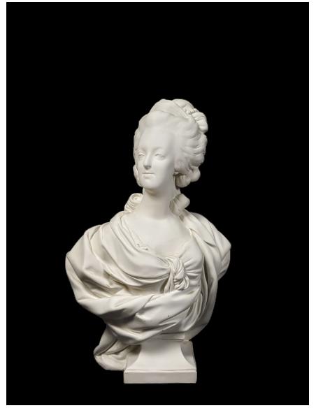 Busto de María Antonieta por Louis-Simon Boizot