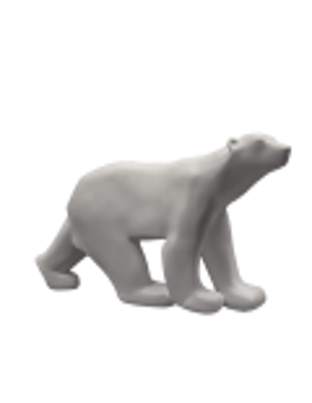 Polar Bear Sculpture by Francois Pompon
