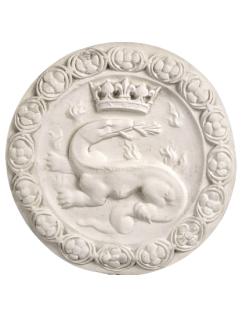 Salamander rosette emblem of Francis I