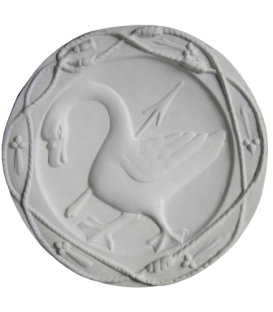 Goose rosette emblem of Anne of Brittany queen of France - Blois castle