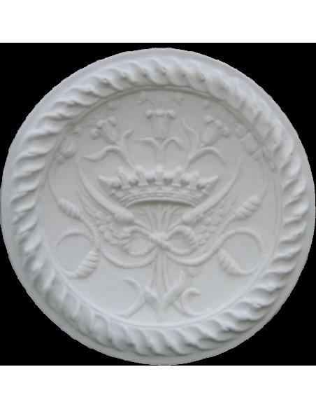 Rosetón emblema de la corona real - Castillo de Blois