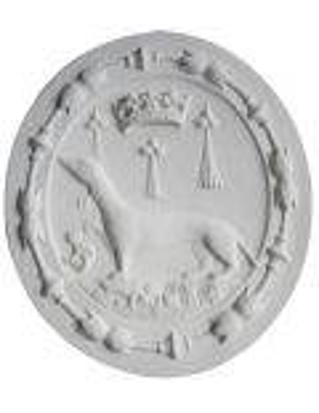 Rosace emblème hermine - château de Blois
