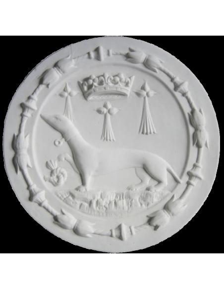 Rosetón emblema del armiño - Castillo de Blois