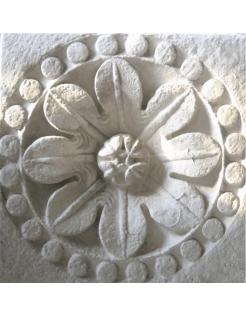 Rosetón de la iglesia de la Santa Cruz - La Charité sur Loire - Siglo XII