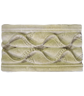 Festoon border with bead and waves - Fragment of Pilaster - Charlieu