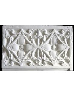 Ornements floraux de pilier de la Cathédrale de Chartres