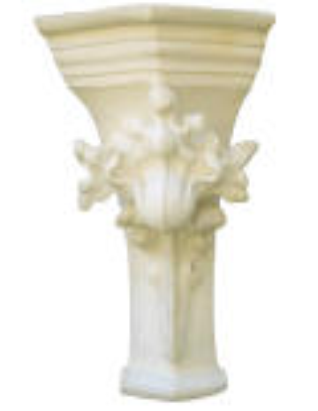Adorno de pilastra gótico XI - XII siglo