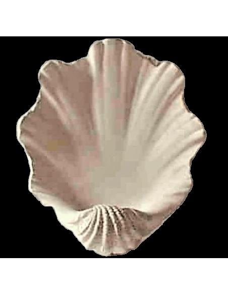 Vasque en forme de coquillage géant ou bénitier
