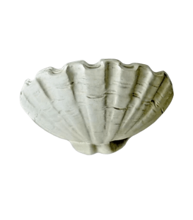 Louis XIV style Giant clam shell vessel