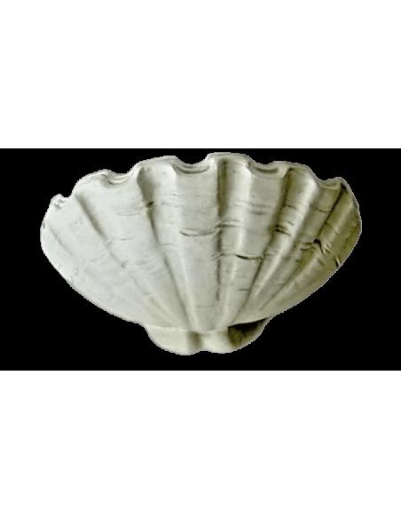 Vasque en forme de coquillage géant ou bénitier style Louis XIV