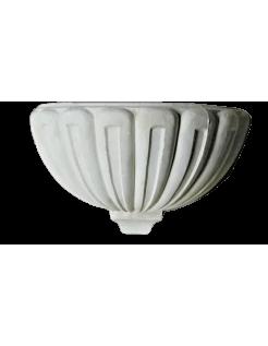 Vasque en forme de coquillage géant ou bénitier style Louis XV