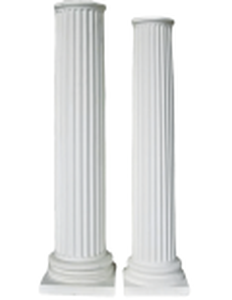 Fluted columns