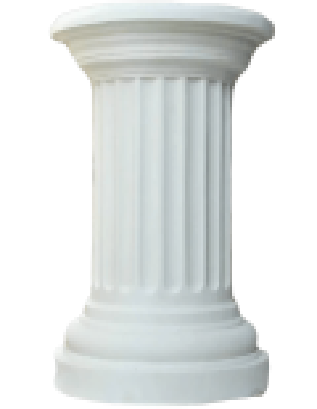 Greek half column